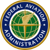 The logo of the Federal Aviation Administration